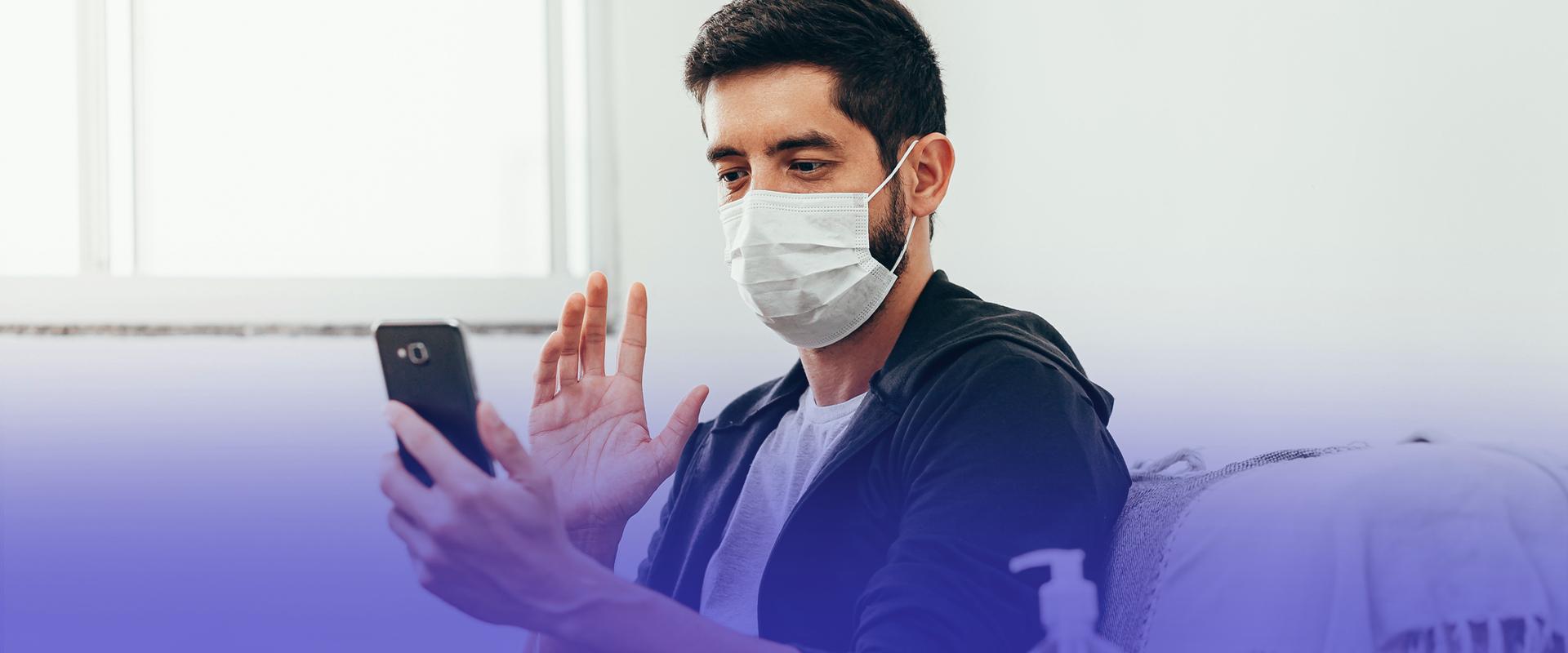 Os benefícios do telemonitoramento de pacientes com COVID